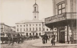Улица Кобылянская в Черновцах. Фото