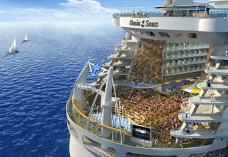 30 ������� ����� ������ �� ���� ���������� � ���� �������� ������ Oasis of the Seas. ���� � �����